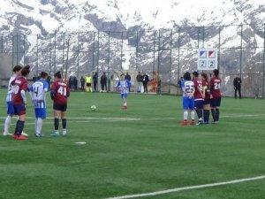 Hakkarigücü Spor rakibi ile 2-2 berabere kaldı