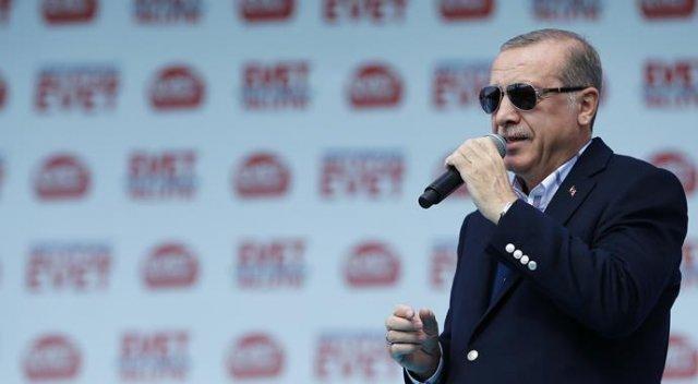 Erdoğan: Haydi gel kimi denize döküyorsun görelim