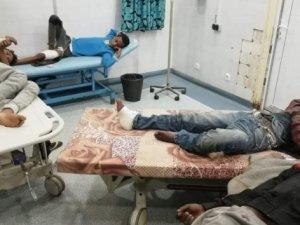 Hafter güçleri göçmen merkezini vurdu: En az 40 ölü
