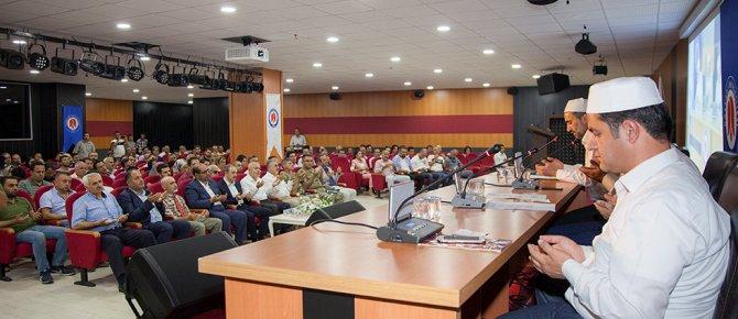 Hakkari Üniversitesi'nde 15 Temmuz Demokrasi ve Millî Birlik Günü Programı Düzenlendi