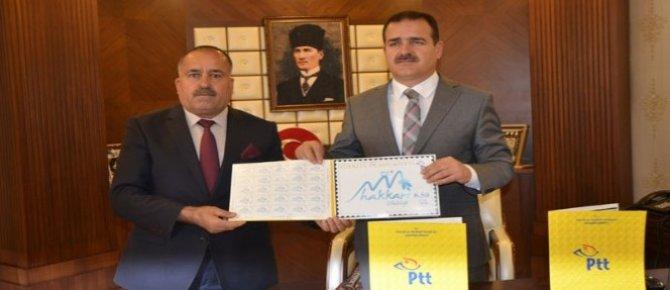 PTT'den Hakkari Valiliğine kişisel posta pulu
