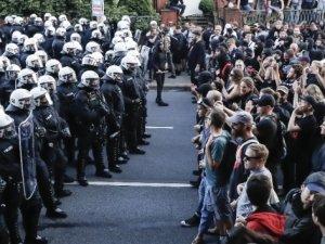 Hamburg sokaklarında G-20 protestosu sürüyor