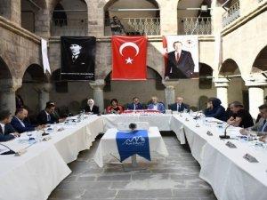 Cumhurbaşkanlığı kültür ve sanat politikaları kurulu eylül ayı ikinci toplantısını Hakkari'de yaptı