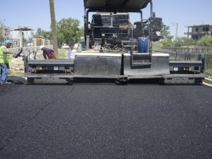 Belediye den devasa BSK asfalt çalışmaları