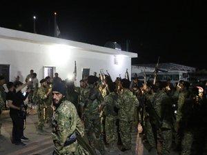 Suriye Milli Ordusu, Akçakale'ye geldi