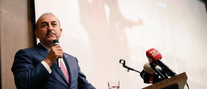 Dışişleri Bakanı Çavuşoğlu: 'Biz insani konularda herkesten hassasız'