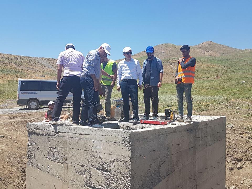 Hakkari'de İçme suyu çalışmaları aralıksız devam ediyor