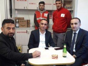 AK Parti'den kan bağışı yapanlara tatlı ikramı