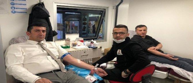 Hakkari'de 3 günlük kan bağışı kampanyası sone erdi