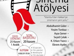 Hakkari'de Sinema Dersleri Verilecek