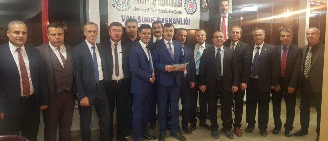 KOOP-İŞ Sendikasından Yüksekova'da Basın Toplantısı