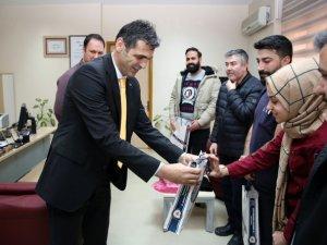 Emniyet Müdürü Aydın'dan Hastane Personeline  Ziyaret