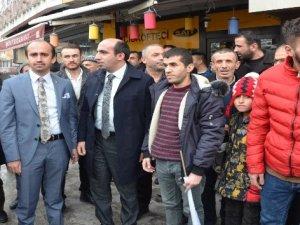 AK Parti'li Demir'e görkemli karşılama