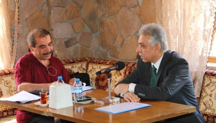 Vali Toprak, TRT Gap Diyarbakır Radyosu'nun Konuğu Oldu