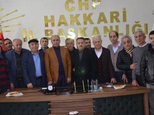 CHP Hakkari Yönetimini Belirledi