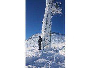 VEDAŞ'ın zorlu kar mesaisi