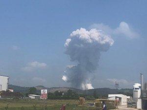 Havai fişek fabrikasında patlama: 2 ölü, 74 yaralı