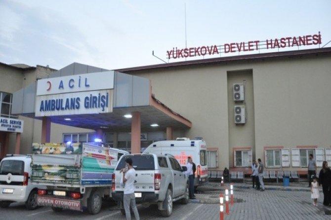 Yüksekova'da aile kavgası 2 ölü