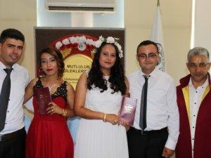Muğla'da ilginç nikah