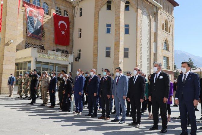 Hakkari'de 19 Eylül Gaziler Günü Töreni