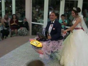 Böyle düğün hediyesi görülmedi |Çanakkale haberleri