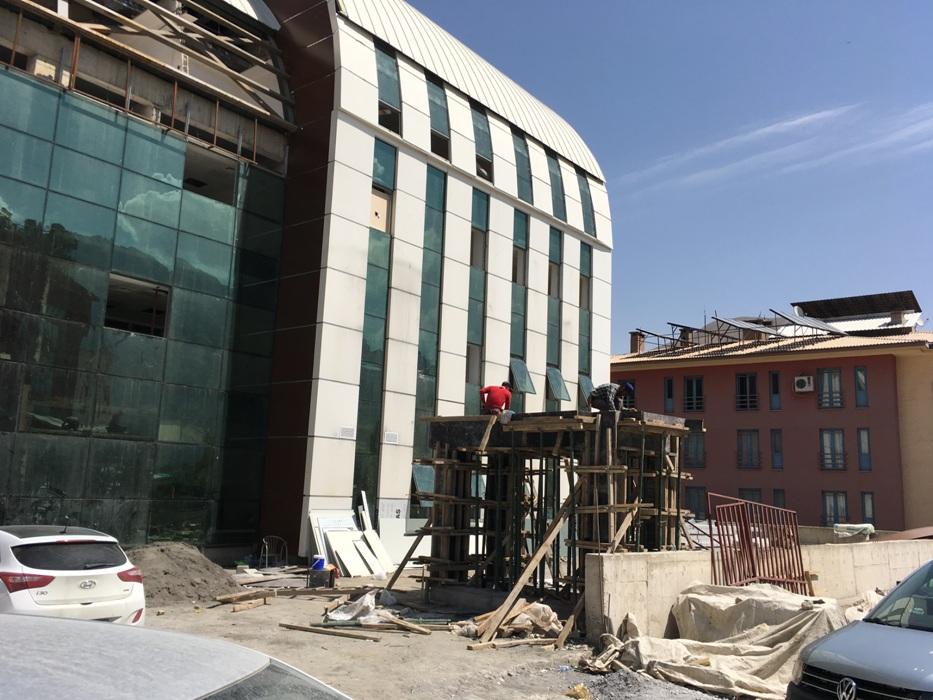Ağız Ve Diş Sağlığı Merkezi Binası Tamamlanma Aşamasında