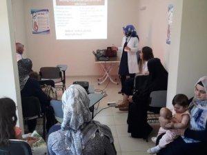 """Bitlis'te """"Gebe okulu"""" açıldı"""