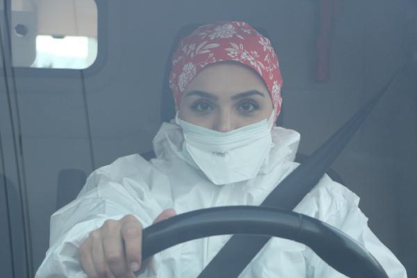 Zeynep, Hakkari'nin ilk ve tek kadın ambulans şoförü