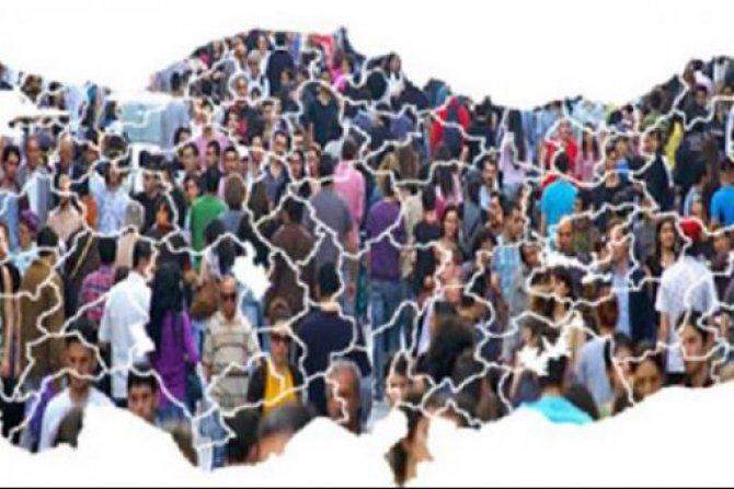 Türkiye nüfusu 83 milyon 614 bin 362 kişi oldu