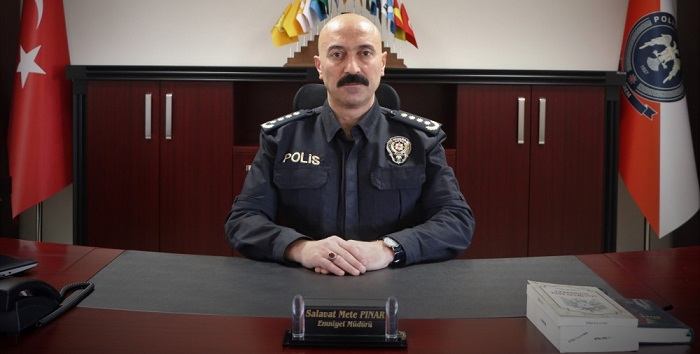 Hakkari'ye yeni atanan emniyet müdürü belli oldu.