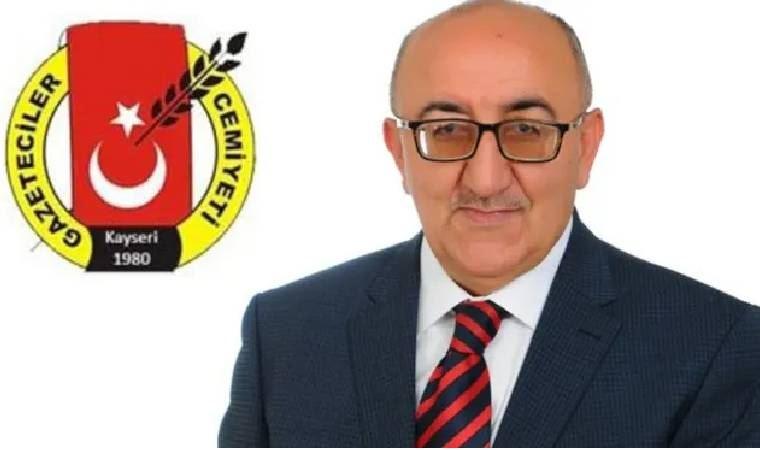 Kayseri Gazeteciler Cemiyeti Başkanı Veli Altınkaya korona virüsünden vefat etti