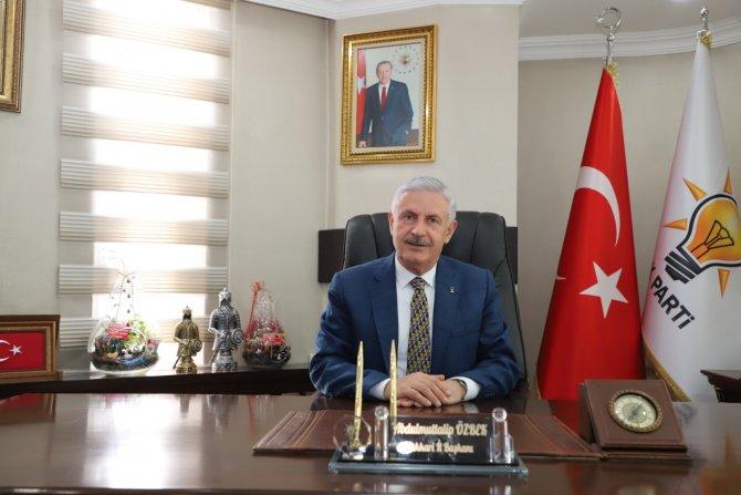Başkan Özbek'ten Ramazan Bayramı mesajı