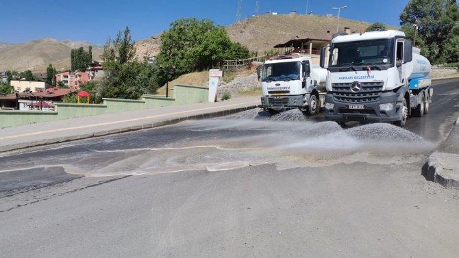 Kısıtlamada Hakkari caddeleri pırıl pırıl