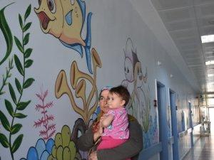 Çocuklar artık hastaneden korkmuyor
