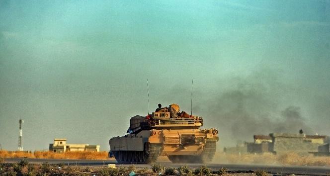 Irak ordusu Telafer'i bombaladı