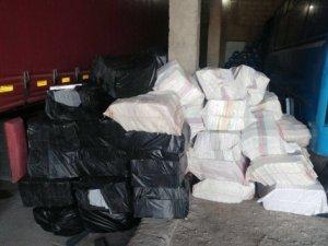 Van'da 91 bin 500 paket kaçak sigara ele geçirildi