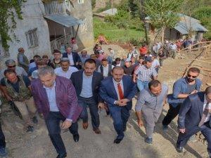 Milletvekili Külünk Durankaya'yı ziyaret etti