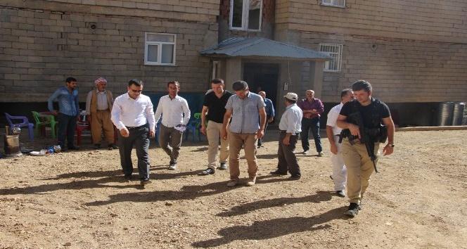 Şemdinli Kaymakamı ve Başkan Vekili Türkman, çalışmaları denetledi