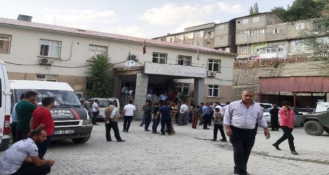 Şemdinli'de patlama: 4 yaralı