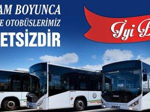 Bayramda Belediye Servisleri Ücretsiz Olacak