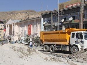 Hakkari'de altyapı ve asfalt çalışması