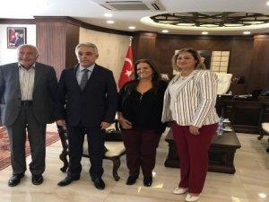 Usta oyuncu Erdoğan'ın ailesinden Vali Toprak'a ziyaret