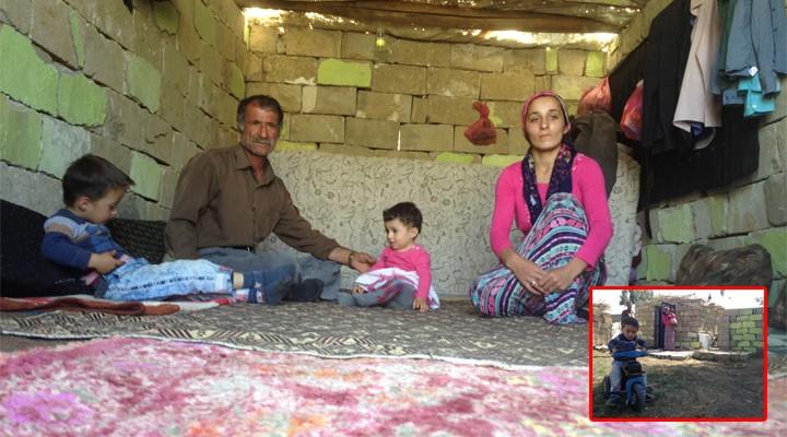 Yüksekova'da barakada yaşam mücadelesi