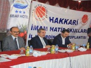 Hakkari'de imam hatip okulları koordinasyon toplantısı yapıldı