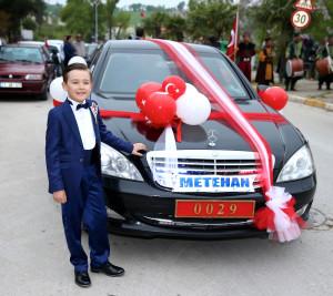 Bakanın Aracı Şehit Oğlunun Sünneti Için Tahsis Edildi