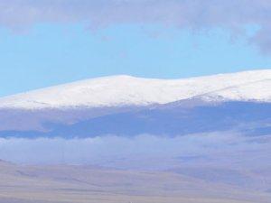Kars'ta soğuk kendini gösterdi, hava sıcaklığı gece eksi 5'e düştü