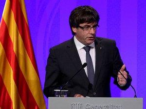 Puigdemont: 'Birkaç gün içerisinde bağımsızlığı ilan edeceğiz'