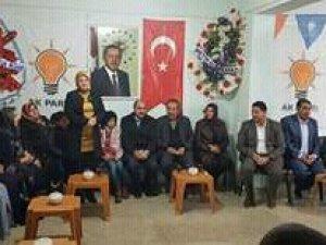 Van-Hakkari İl Koordinatörü Köseoğlu'nun Özalp ziyareti