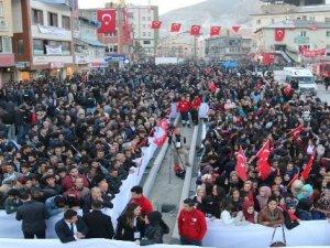 """Başbakan Yıldırım Hakkari'de """" Biz birlikte Türkiye' yiz """""""