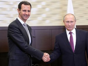 Soçi'de sürpriz görüşme! Putin ve Esad bir araya geldi